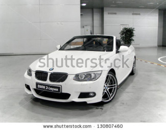 stock-photo-moscow-russia-september-bmw-e-series-presented-at-the-moscow-international-autosalon-on-130807460